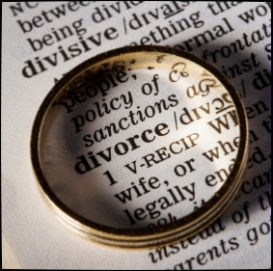Divorce in dictionary