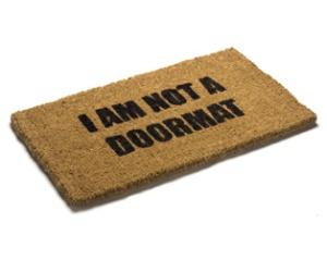 human-doormat